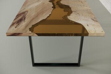 Стол из слэба карагача Flannery